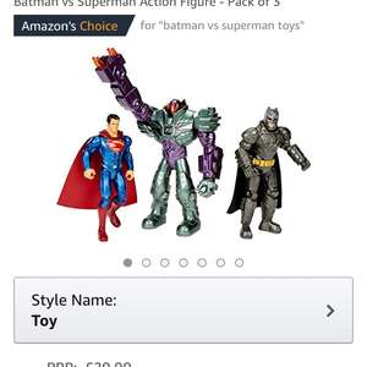 Batman gift pack - £14.96 (Prime) £19.74 (Non Prime) @ Amazon