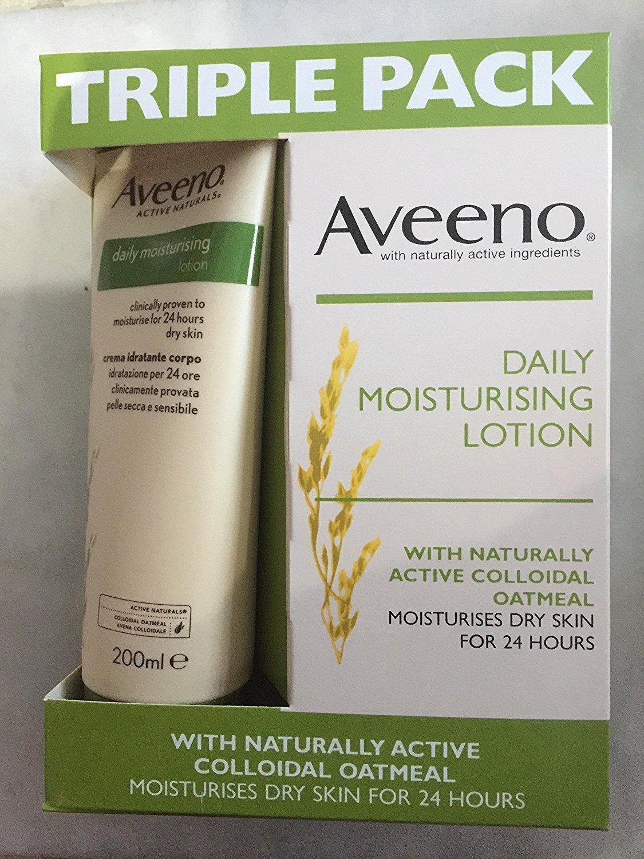 Aveeno Daily Moisturising Lotion (3 x 200ml) for £5.02 @ Costco