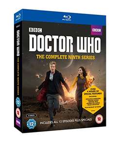 Doctor Who - The Complete Ninth Series blu ray RRP£39 now £17.49 (PRIME) £19.48 (Non Prime) @ Amazon