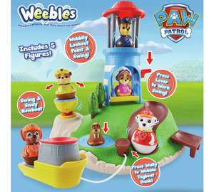 ​Paw Patrol Weebles Pull and Play Seal Island Playset £12.49 in store and online @ Argos