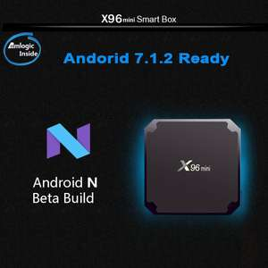 X96 MINI 2GB / 16GB Rom Android box £20.99 w/code @ Geekbuying