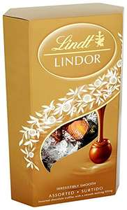 Lindt Lindor Assorted Chocolate Cornet 337 g (Pack of 2) = £7.50 Prime (£12.25 non Prime) @ Amazon (see OP for more)