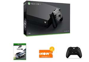 Xbox One X 1 TB + Forza Motorsport 7 + Extra Wireless Controller + 2 Months NOW TV​ Ent. Pass £459.99 @ Game