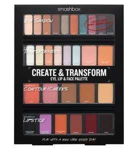 50% OFF ON Smashbox Create & Transform Eye, Lip & Face Palette - £35 @ Boots