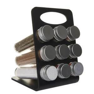 Ground spices on a display stand set of 9 only £5.00  @ www.wilko.com