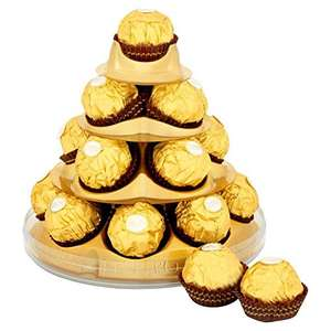 Ferrero Rocher Christmas Cone, 17 pieces, 212 g (Pack of 4) £16.00 (Prime) £20.75 (Non Prime) - Dispatched from and sold by Amazon.