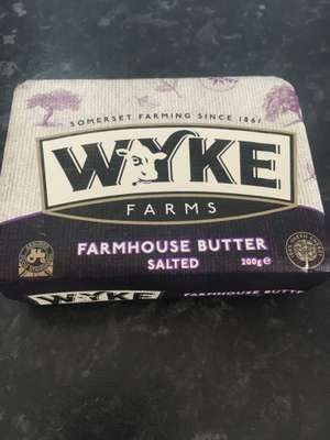 Wyke Farms Butter Salted 79p 200g @ Lidl - 79p