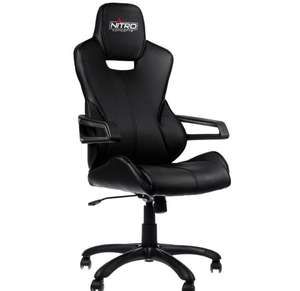 NITRO CONCEPTS E200 RACE SERIES GAMING CHAIR - BLACK £129.05 Delivered @  Overclockers