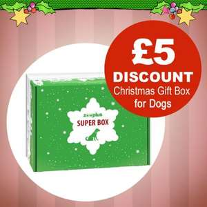 Zooplus Christmas Gift Box for dogs - Advent Calendar Gift! £5.00 Off Today Only now £14.99!!! (minimum Spend £29)