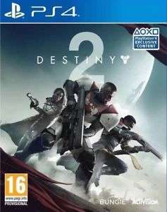 Destiny 2 (PS4) - Scratch free disc with pristine box guaranteed at Boomerangrentals for £20.99
