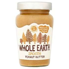 Whole Earth Crunchy or Smooth Original Delicious Peanut Butter (No Added Sugar) (340g) was £3.00 now £2.00 (Rollback Deal) @ Asda
