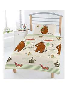 The Gruffalo Woodland Scene Junior Duvet Cover Set (was £22.99) Now £11.99 at Very
