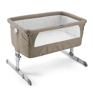 Chicco Next2me Side Sleeping Crib - Dove Grey at Amazon for £119.19