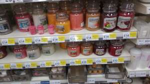 3 for 2 Yankee large candles (Home Inspiration Range) at Tesco Walsall