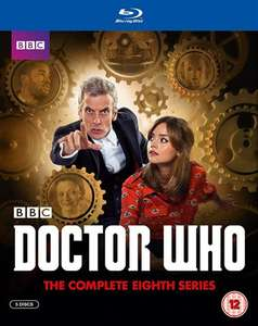Doctor Who - Complete Series 8 Blu ray £13.5 delivered CEX