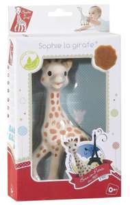 Sofie the giraffe baby teether at Amazon for £9.59 Prime (£12.58 non Prime)