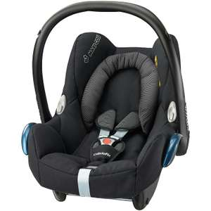 Maxi-Cosi Cabriofix Group 0+ Car Seat, Black Raven at Amazon for £79.19