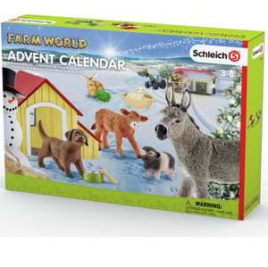 Schleich Farm Advent Calendar £10.99 Click & Collect @ Argos