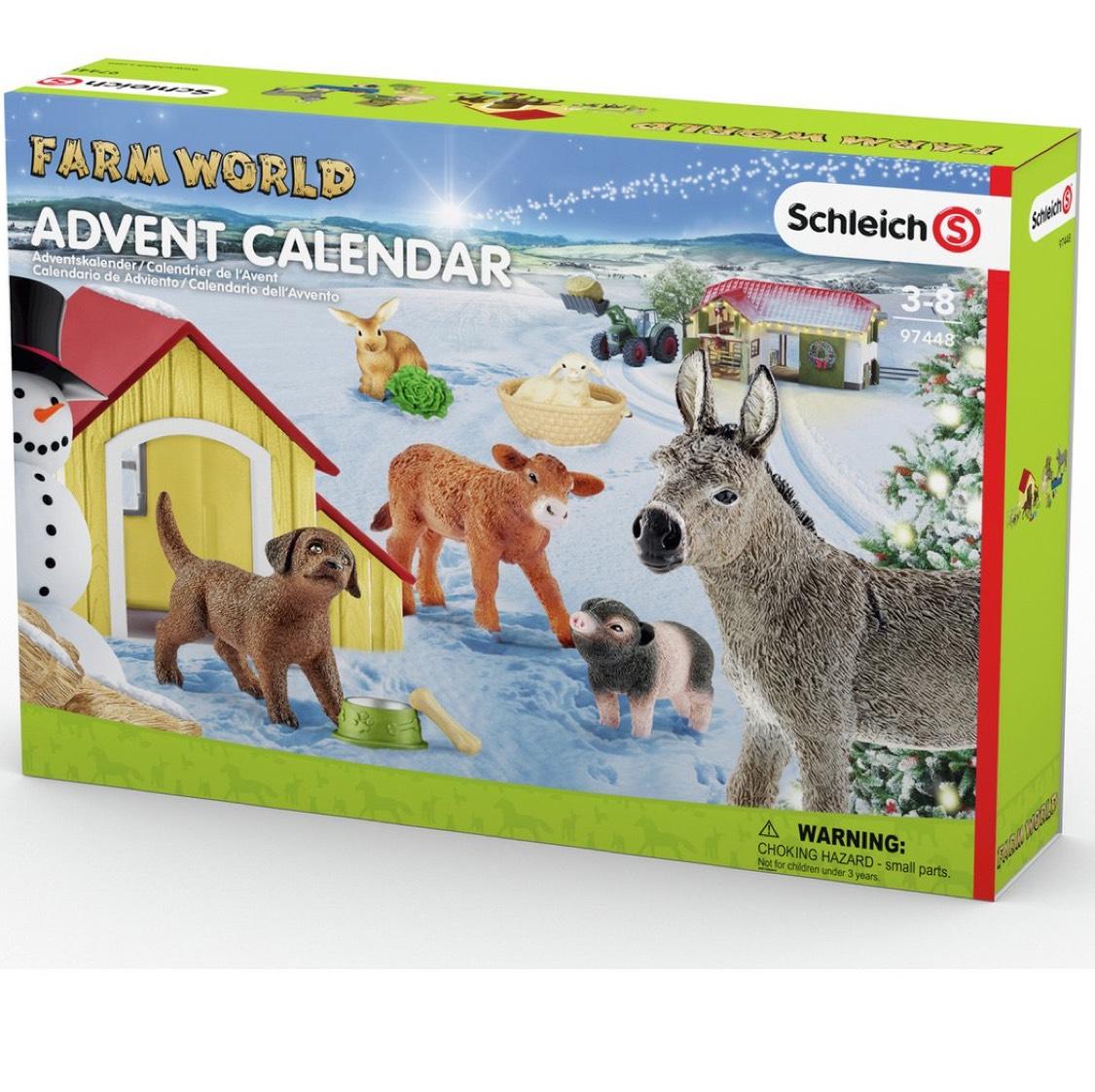 Schleich Farm Advent Calendar £10.99 Click & Collect @ Argos