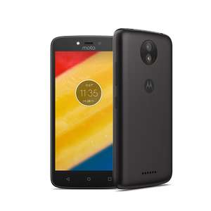 "Moto C Plus Sim Free (5"" Screen, Android 7, 4000mAh Battery) Black / Gold £79.95 with code @ Motorola"