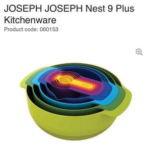 Joseph Joseph Nest 9 Plus Kitchenware (Bowls) at Currys £24