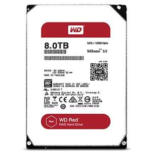 8TB Western Digital Red Hard Drive WD @ Amazon for £229.60