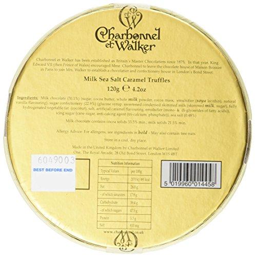 Charbonnel et Walker Milk Sea Salt Caramel Truffles 120 g @ Amazon for £5.75 (add-on item - must spend £20)