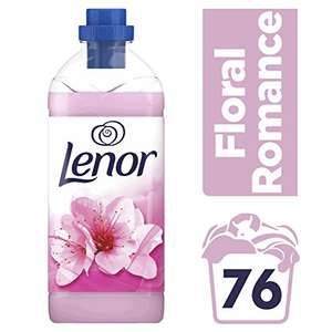 76 wash (1900ml) Lenor Fabric Conditioner Floral Romance £3 @ Amazon Pantry (4 of these qualify for free delivery)