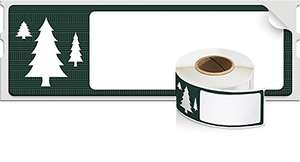 Dymo Christmas Labels £4.67 Dispatched from and sold by Choice Stationery Supplies Limited.  @ Amazon
