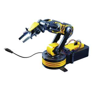 Robotic Arm Construction Kit £29.99 @ Maplin
