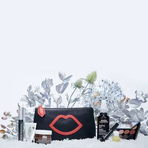 LULU GUINNESS X LOOKFANTASTIC MAKEUP BAG - Contains MAC, Clinique, Glamglow, Avena products etc.... - £65 @ Look Fantastic