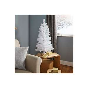 3FT ORELLE WHITE CLASSIC CHRISTMAS TREE @ B&Q £2