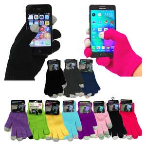 Touch screen gloves 99p & FREE Delivery! :D @ weeklydeals4less