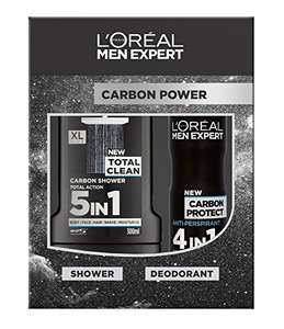 L'Oreal Men Expert Carbon Power 2-Piece Gift Set now reduced to £2.25 @ amazon (add on item)