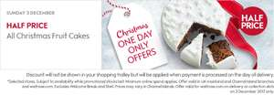 Waitrose half price Xmas cake on Sun 3rd Dec ONLY (while stock lasts)