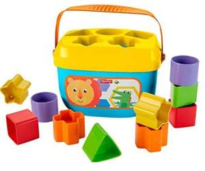 Fisher Price - Baby's First Blocks £5.50 Prime £9.49 delivered @ Amazon