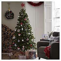 6ft Evergreen Christmas Tree - £16 @ Tesco