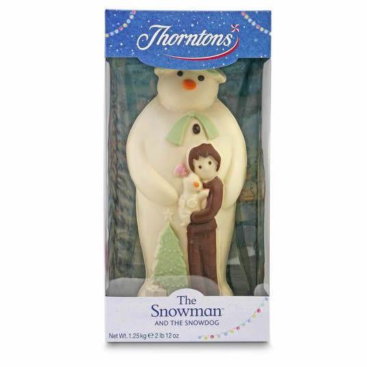 Giant 1.25kg Thorntons snowman £25 @ Morrisons