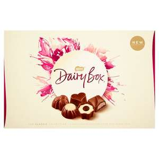 Dairy Box chocolates....very Large 720g box £6 (half price) Tesco's