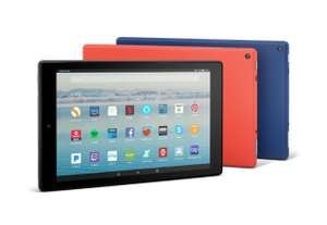 Amazon fire hd10 (2017 version) £119.88 @ QVC with 32gb memory card case and trial of music