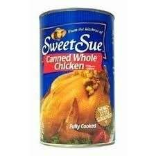 Sweet Sue Canned Whole Chicken without Giblets 50oz £20.20 delivered @ Amazon.com