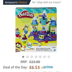 Play-doh ice cream castle toy now £6.53 Amazon Prime (£9.52 non Prime)