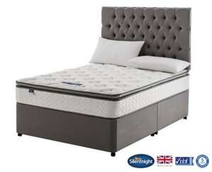 Silentnight wensley divan. Double, 4 drawers at Tesco for £416