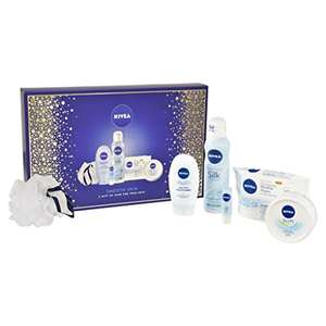 Nivea smooth skin gift pack at Amazon for £7.50 Prime (£12.49 non Prime)