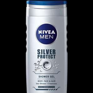 6 x Nivea Men Silver Protect Shower Gel, 500 ml at Amazon for £8.99 Prime (£11.98 non prime)