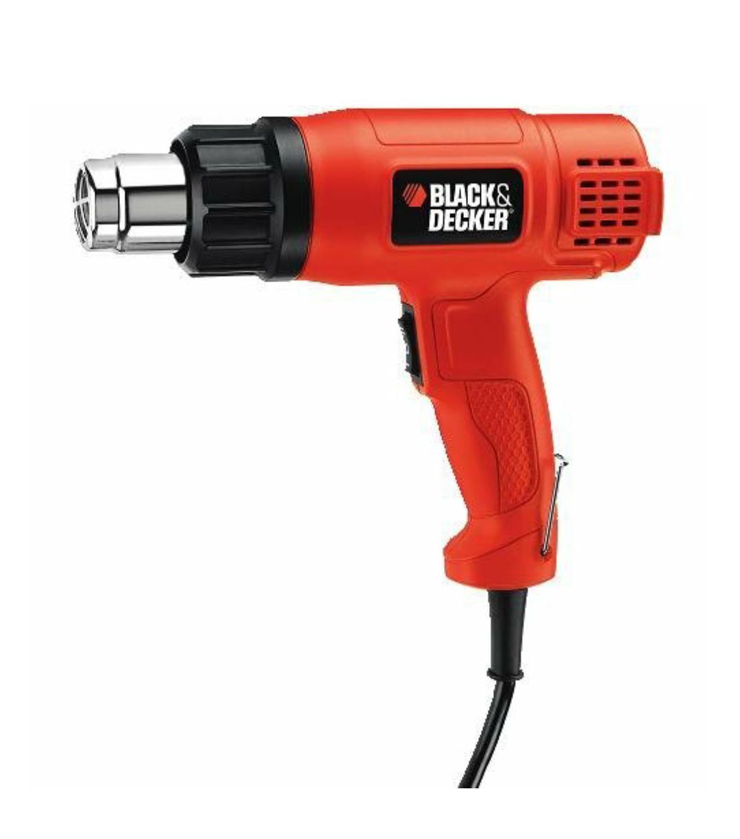 BLACK+DECKER KX1650-GB Heat Gun - Was £24.99 Now £14.00 prime / £17.99 non prime @ amazon