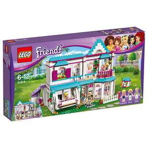 Lego friends Stephanie's house at John Lewis for £32