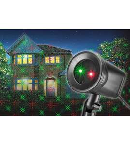 Xmas laser lights half price with free delivery ( over £20 spend add small item) £19.99