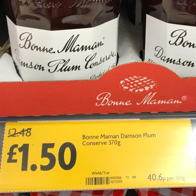 Bonne Maman Jam at Morrisons for £1.50