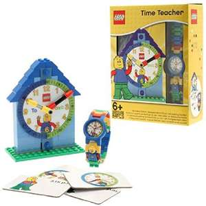 Lego time teacher clock and watch at Amazon for £15.75 Prime (£20.50 non Prime)